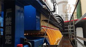 江西某大型化工行业客户隔膜压滤机使用现场