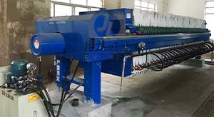 温州某污水处理厂隔膜压滤机使用现场
