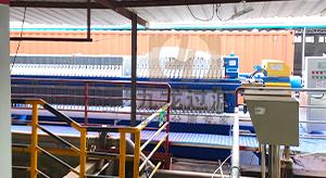 广东某线路板有限公司隔膜压滤机使用现场
